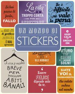 Un mondo di stickers | Edizioni EL | 9788847732742