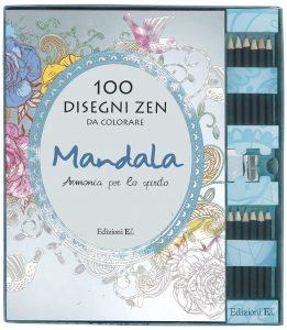 100 disegni Zen da colorare | Edizioni EL | 9788847733091