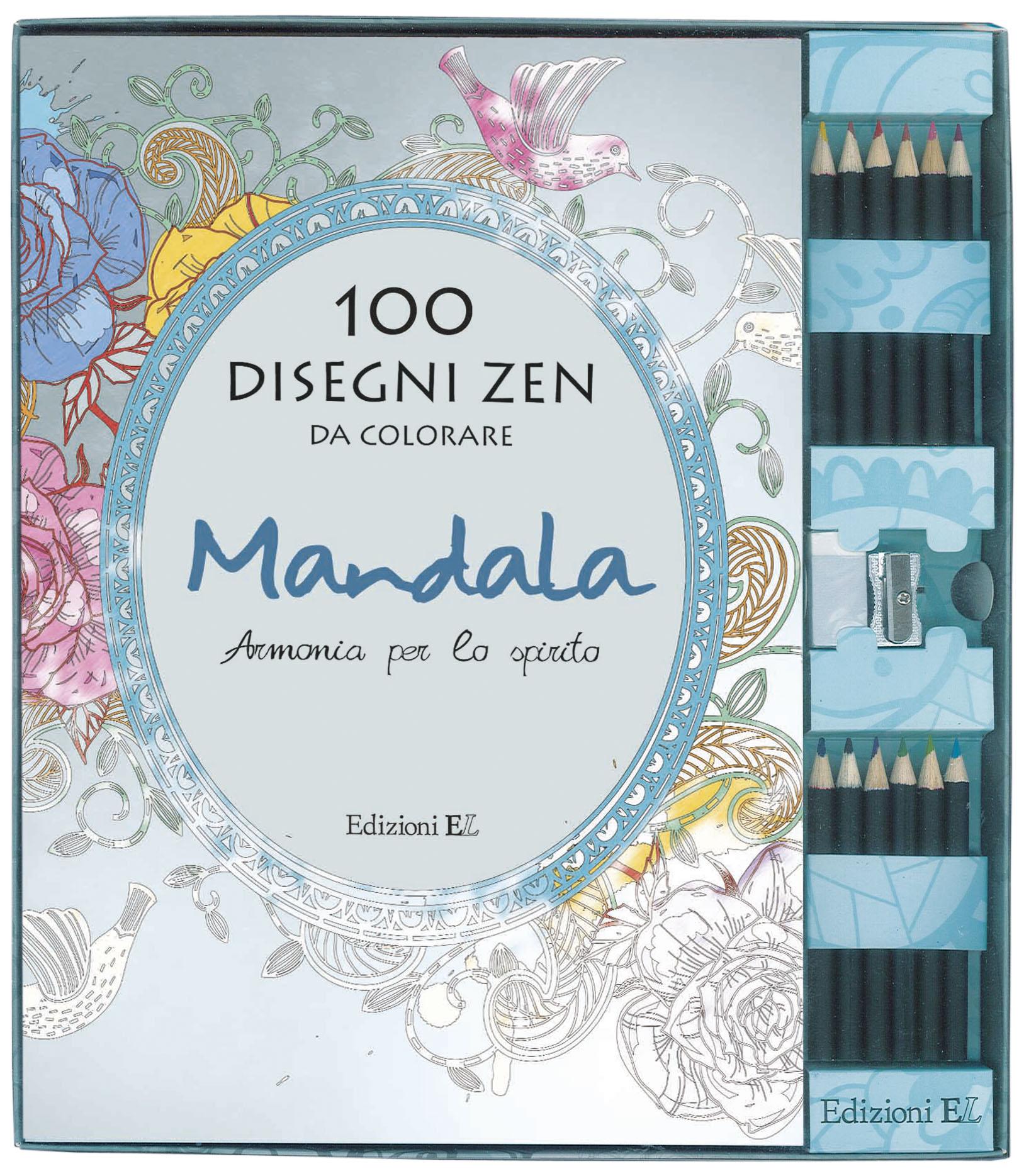 100 Disegni Zen Da Colorare Edizioni El