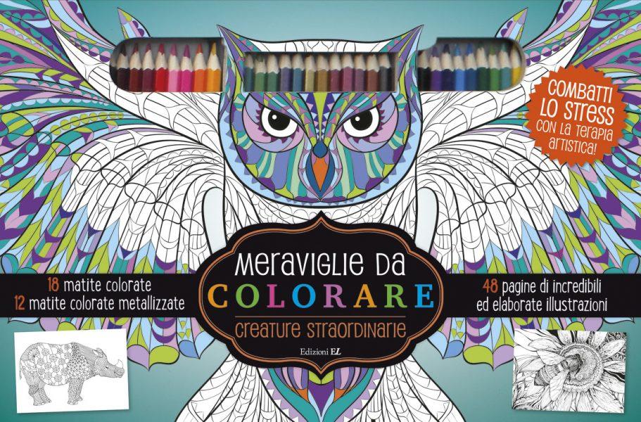 Meraviglie da colorare - Creature straordinarie | Edizioni EL | 9788847733879
