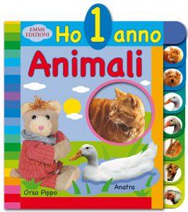 Ho 1 anno - Animali - Boumans | Emme Edizioni | 9788860799227
