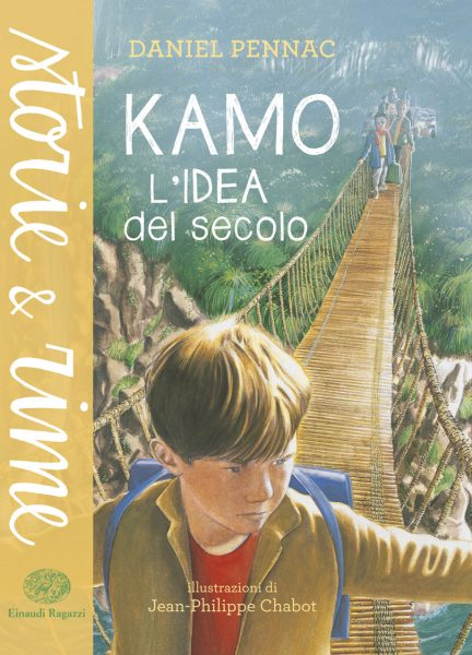 Kamo - L'idea del secolo - Pennac/Chabot | Einaudi Ragazzi | 9788866561637