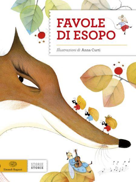 Favole di Esopo - Piumini e Bordiglioni/Curti | Einaudi Ragazzi | 9788866561675