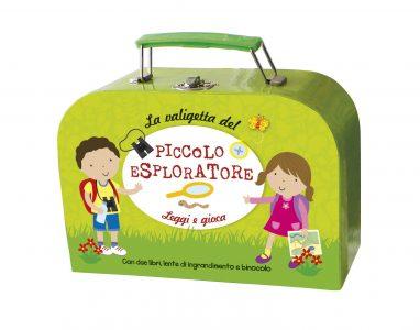 La valigetta del Piccolo Esploratore - Leggi e gioca | Emme Edizioni | 9788867141777