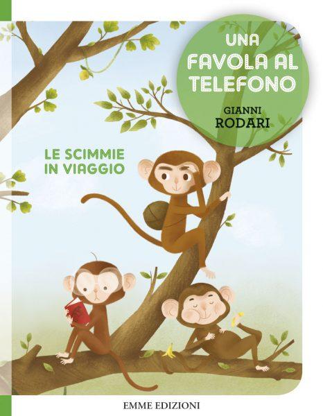 Le scimmie in viaggio - Rodari/Zito | Emme Edizioni | 9788867142316