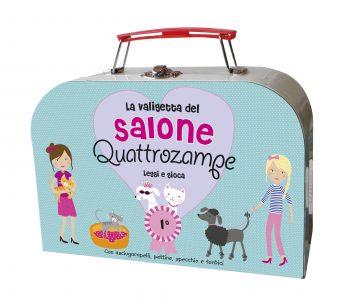 La valigetta del Salone Quattrozampe - Leggi e gioca | Emme Edizioni | 9788867142439