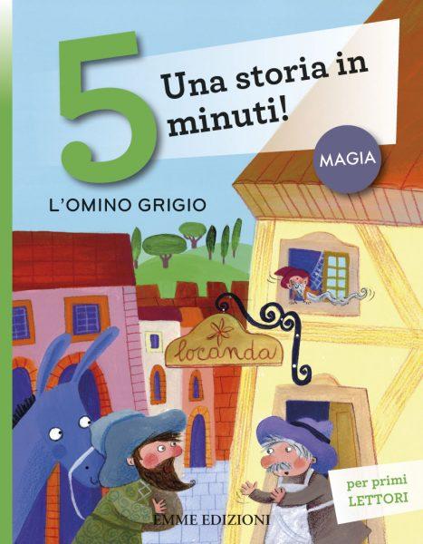 L'omino grigio - Lazzarato/Vagnozzi | Emme Edizioni | 9788867143610