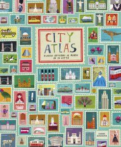 City Atlas - Viaggio intorno al mondo in 30 città - Cherry/Haake | Emme Edizioni | 9788867145645