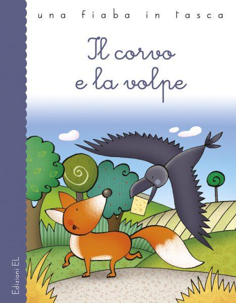 Il corvo e la volpe - Piumini/Bolaffio | Edizioni EL | 9788847727427