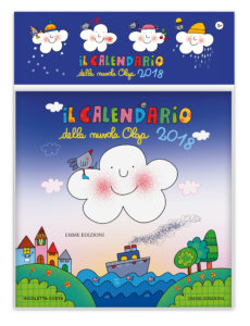 Il calendario 2018 della nuvola Olga