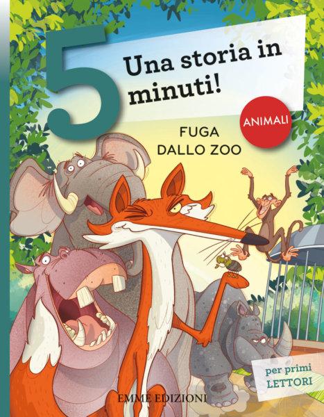 Fuga dallo zoo - Bordiglioni/Fiorin | Emme Edizioni | 9788867146949