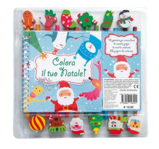 Colora il tuo Natale! - AA. VV. - Emme Edizioni - 9788867146901