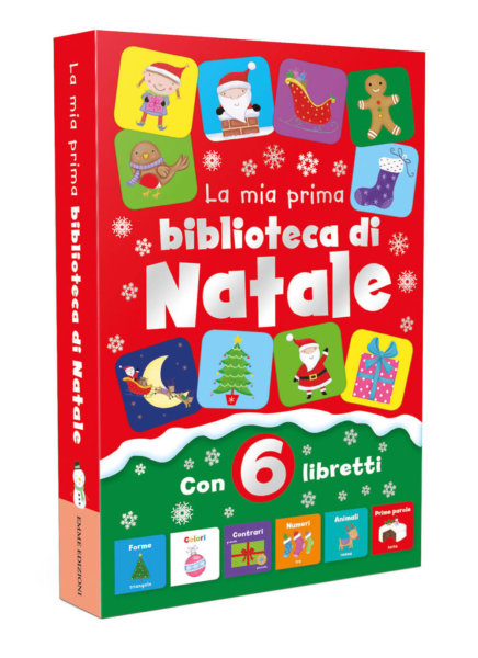 La mia prima biblioteca di Natale - AA.VV. - Primi libri - Emme Edizioni - 9788867146666