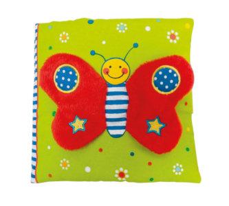 Il libro del bebè - Farfalla rossa