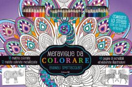 Meraviglie da colorare - Animali spettacolari - AA. VV. - Edizioni EL - 9788847735569