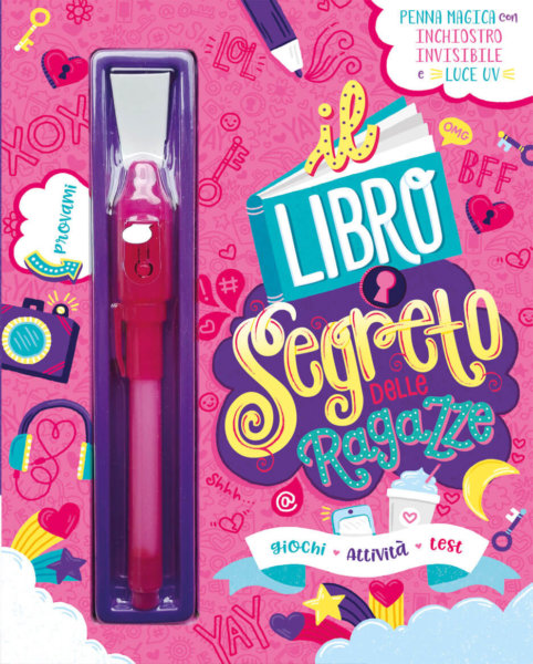 Il libro segreto delle ragazze - AA.VV. - Emme Edizioni - 9788867148219