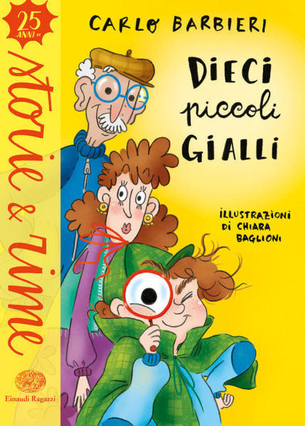 Dieci piccoli gialli - Barbieri/Baglioni | Einaudi Ragazzi
