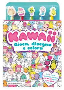 kawaii-gioca-disegna-colora - AA.VV. | Emme Edizioni