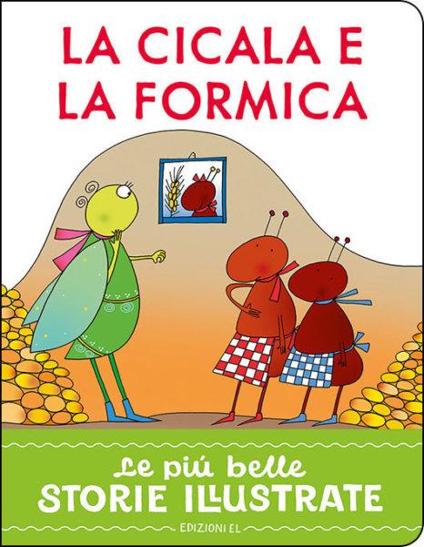 La cicala e la formica - Piumini/Costa | Edizioni EL