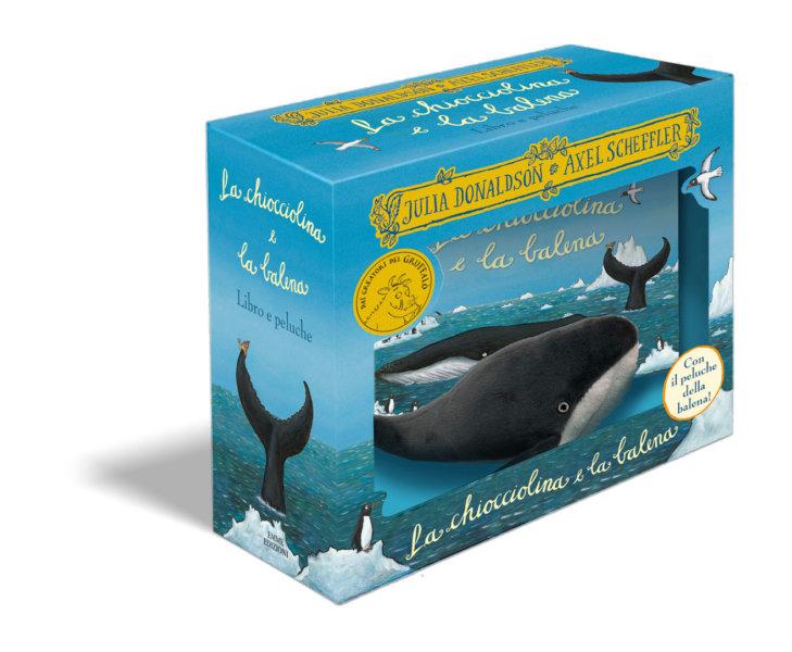 La chiocciolina e la balena - Libro e peluche - Donaldson/Scheffler | Emme Edizioni