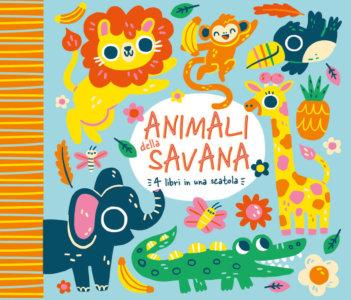 Animali della savana - 4 libri in una scatola - AA.VV.,Doyle | Emme Edizioni