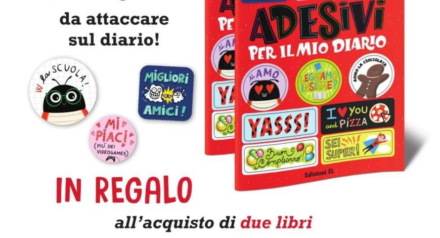 Promo adesivi Mondadori