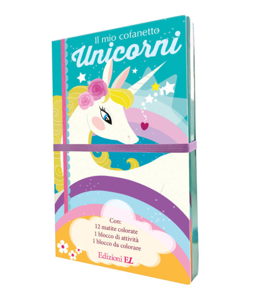 Il mio cofanetto - Unicorni - Sybile | Edizioni EL